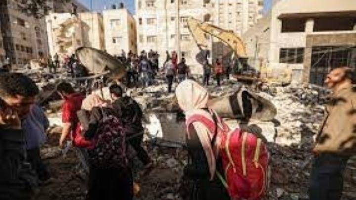 Médicos en Gaza advierten que el Covid podría propagarse como un incendio por la guerra