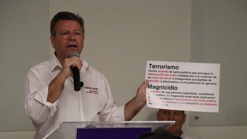 Cajeme: De ganar la alcaldía, Rodrigo Bours buscaría ser designado como presidente interino
