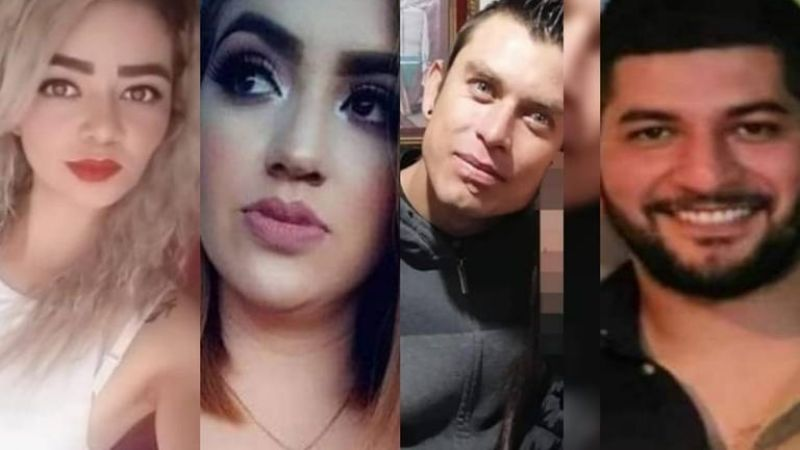 Melba, Estefanía, Kevin y Juan Carlos, los jóvenes que salieron a comprar medicina y no regresaron