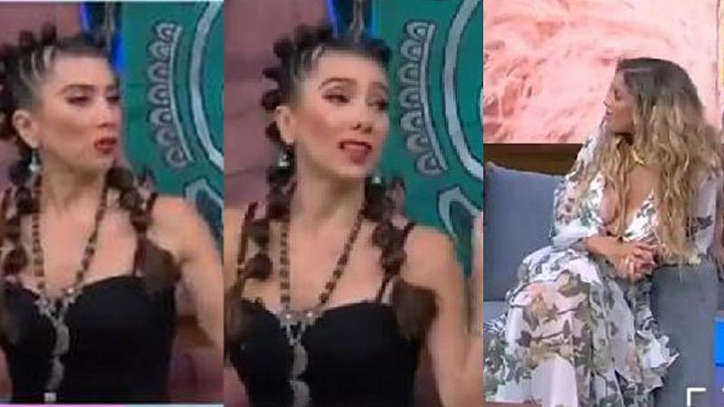 VIDEO: Captan fuerte pelea de Bella de la Vega y Natalia Alcocer en pleno foro de TV Azteca