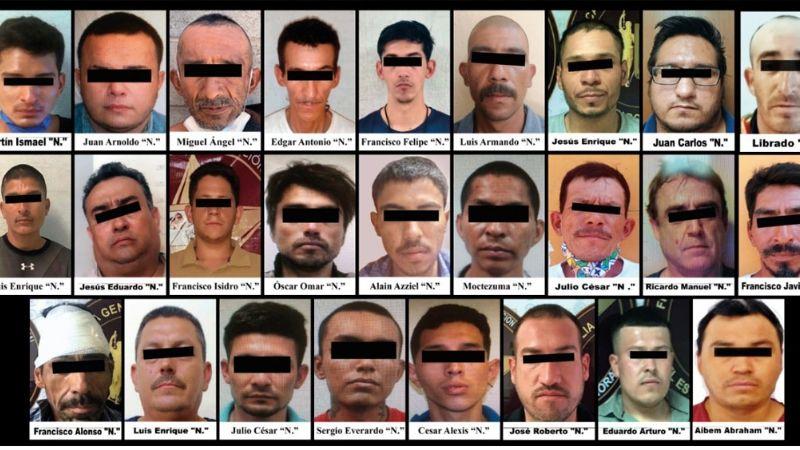 En menos de una semana, AMIC aprehende a 26 presuntos delincuentes de Caborca, Cajeme, Hermosillo