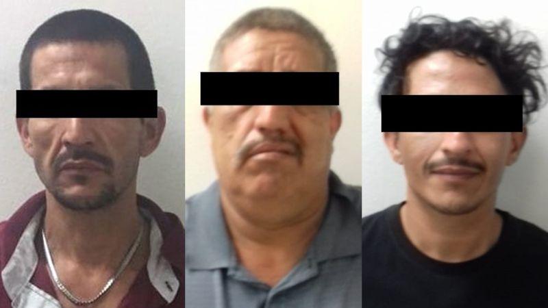 Golpe al crimen organizado en Cajeme: Atrapan a cuatro hombres armados y con droga