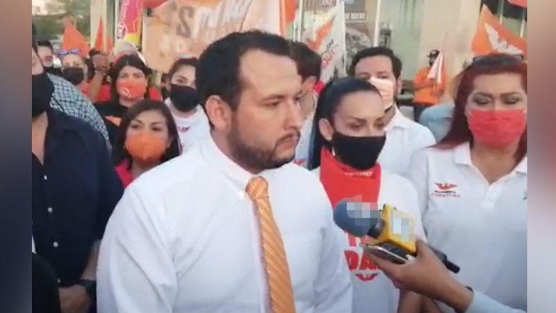 MC: IEE le prohíbe la entrada a Manuel Scott al debate de los candidatos a la gubernatura de Sonora