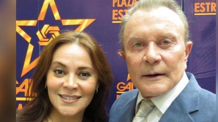 En cama y con oxígeno: Valeria Palmer difunde foto del actor de Televisa, Miguel Palmer