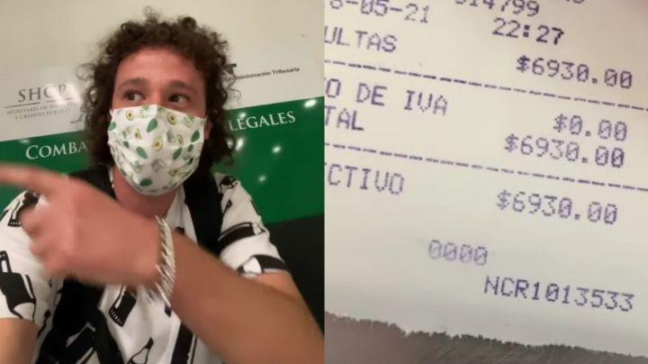 ¿Es ilegal usar el celular? Multan a Luisito Comunica en el aeropuerto de México