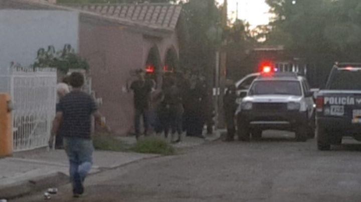 Gatilleros acribillan a joven en Hermosillo; lo dejaron tendido en la vía pública
