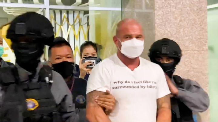 Arrestan a 2 marinos de EU en Tailandia por secuestrar a un empresario y pedir rescate