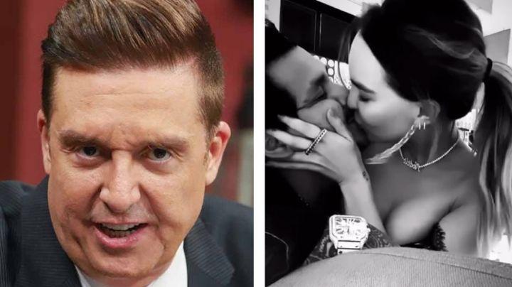 """""""Casi se le salen las..."""": Bisogno estalla en 'Ventaneando' por tremendos besos de Nodal y Belinda"""