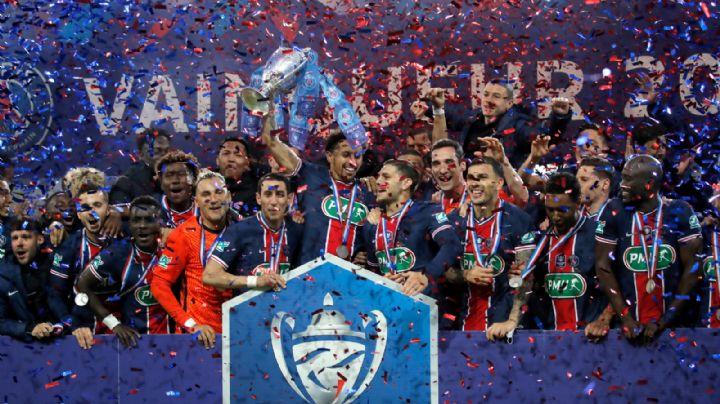 Con goles de Mbappé e Icardi, PSG se corona en la Copa de Francia sobre el Monaco