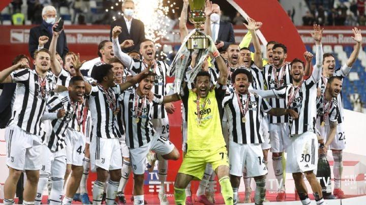 La Juventus se alza con la Copa Italia; ahora va por un lugar en la Champions