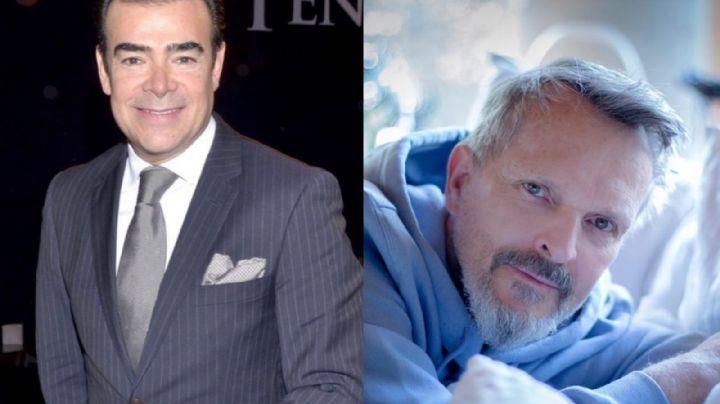 ¿Será? Toño Mauri asegura que serie sobre Miguel Bosé superará la de Luis Miguel