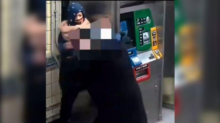 VIDEO: Capturan a violenta asaltante; golpeó a una mujer para intentar robarle la bolsa