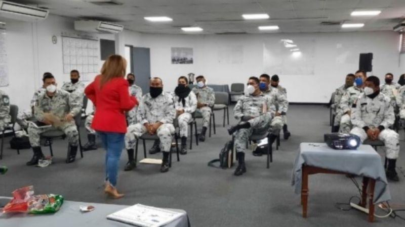 Hermosillo: FGR capacita a elementos de la Guardia Nacional en Sonora