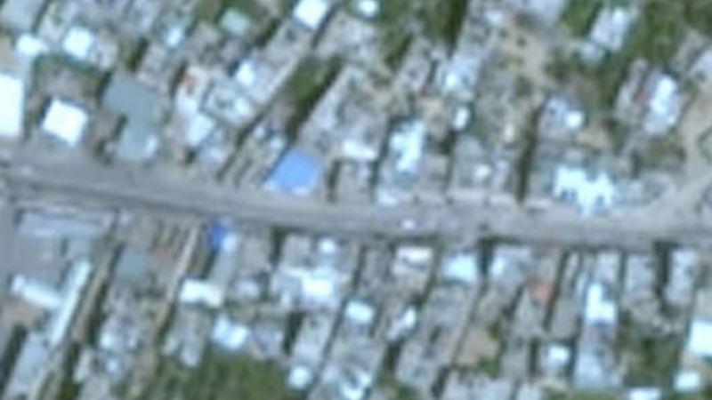 Reportan imágenes borrosas de Franja de Gaza; Google Maps no deja ver el territorio