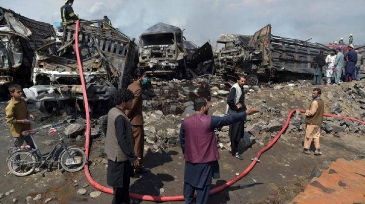 Incendio de vehículos en Afganistán deja saldo de 7 muertos y 14 lesionados