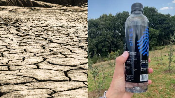Juanpa Zurita lanza marca de agua en medio de una crisis hídrica; lo acusan de explotación