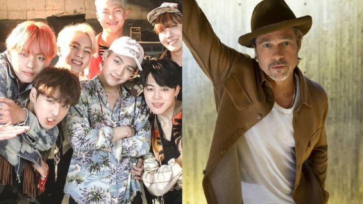 De no creer: Este integrante de BTS es considerado el nuevo Brad Pitt por esta razón