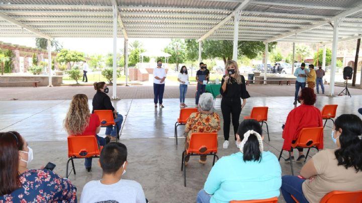 Gobernadora Pavlovich supervisa centros de salud y atestigua entrega de becas en Sonora