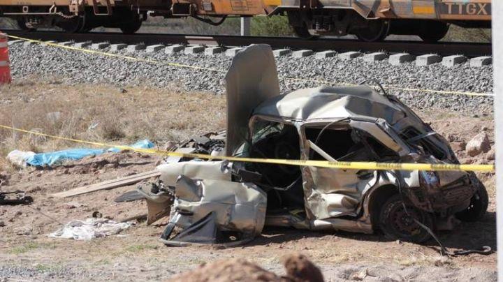 Hombre pierde la vida tras intentar ganarle el paso al tren en Tamaulipas