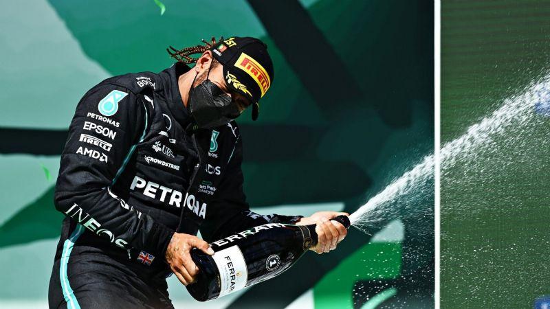 Lewis Hamilton se corona campeón del GP de Portugal; 'Checo' Pérez terminó en cuarto lugar