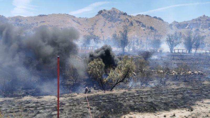 Sonora: Trágico incendio en el parque La Sauceda de Hermosillo; desalojan instalaciones