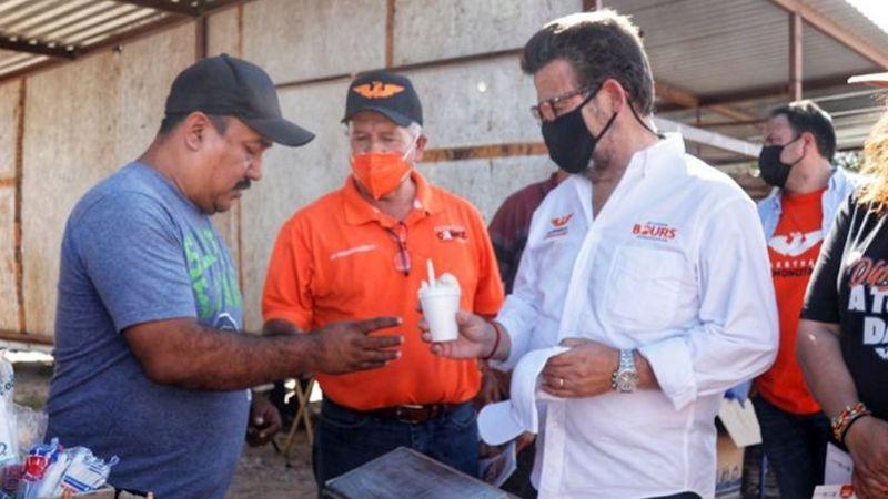 Ricardo Bours Castelo señala que apoyará a los pequeños comerciantes de Sonora