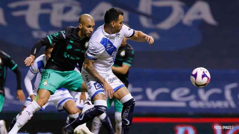La Franja del Puebla empata contra Santos y obtiene su boleto directo a los cuartos de final