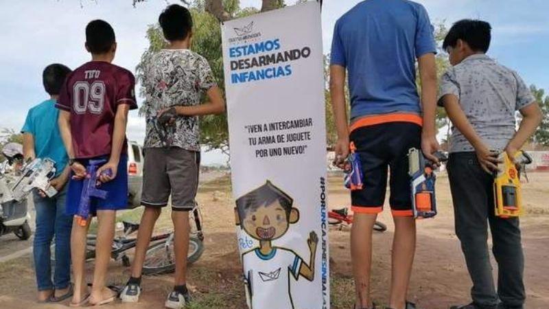 Ciudad Obregón: Campaña 'Desarmando Infancias' cumple meta para continuar activa