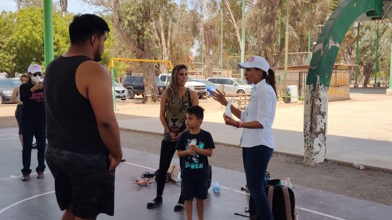 Elecciones 2021: Anabel Acosta se reúne con deportistas de Cajeme