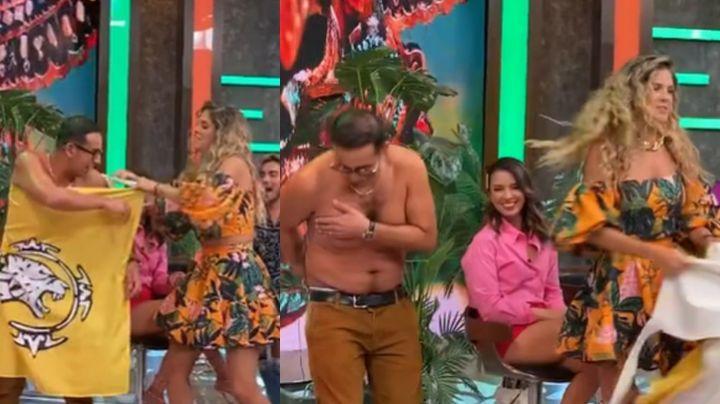 """Natalia Alcocer es destrozada en TV Azteca por quitarle la ropa al 'Capi' Pérez: """"Es una pesada"""""""