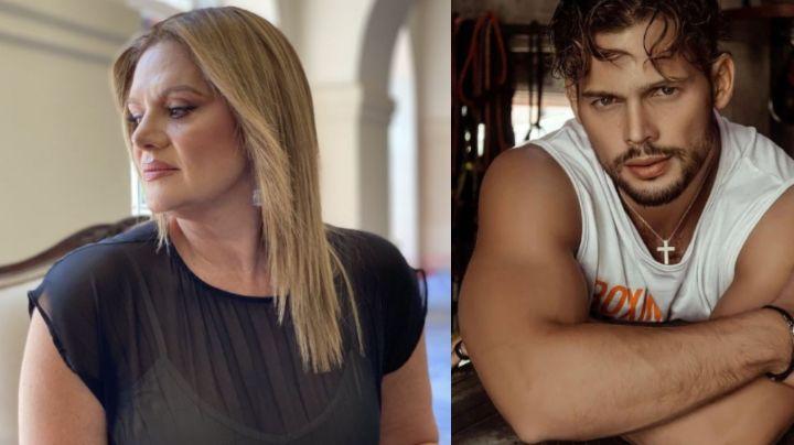 ¿Romance en Televisa? Érika Buenfil comparte 'ardiente' foto con galán de novelas, 27 años menor