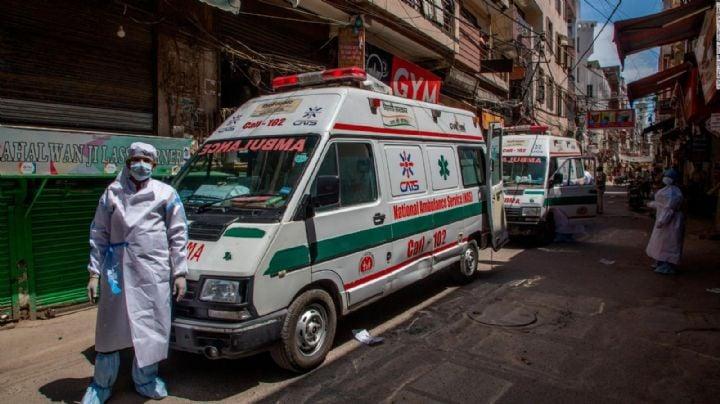 FOTOS: Un joven lleva a su padre agonizante al hospital en una carreta; no halló ambulancia