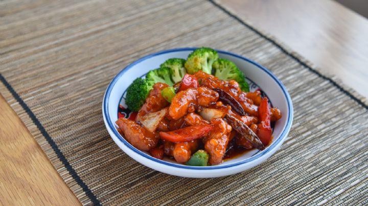 Comida china: Disfruta de este exquisito pollo en salsa de piña; tu familia lo amará