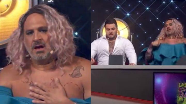 ¡De impacto! Actor de Televisa llega a 'Hoy' vestido de mujer y coquetea con este integrante