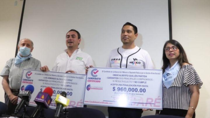 Candidatos a diputación en Cajeme se comprometen a cumplir sus promesas de campaña