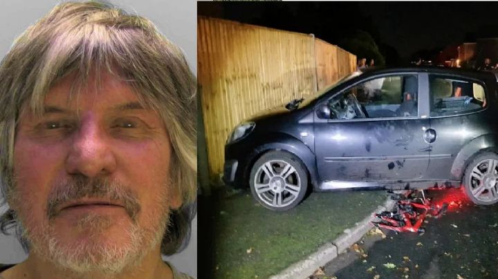 Brutal: Anciano alcoholizado atropella a niño; le pasó por encima de la cabeza frente a su padre