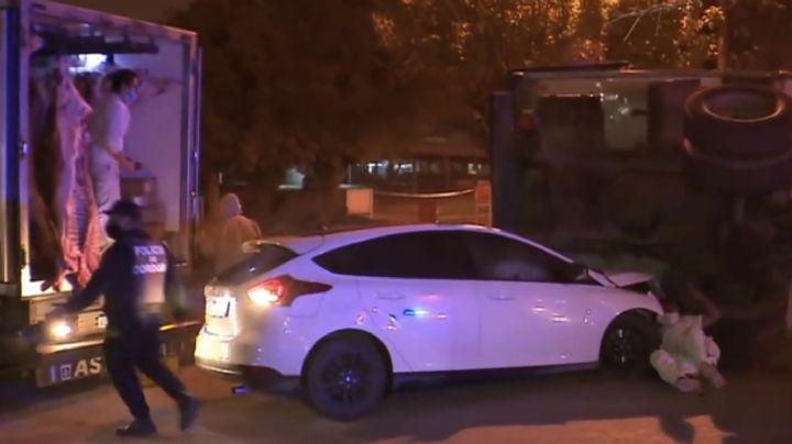 VIDEO: Hombre es atropellado mientras reportero cubría un accidente vehicular en Argentina