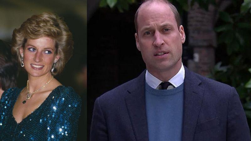"""En VIDEO, un furioso Príncipe William arremete contra la BBC por """"arruinar"""" a Diana de Gales"""