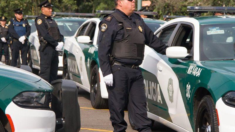 Detienen a 14 policías de la SSC de la CDMX por los delitos de asalto y extorsión