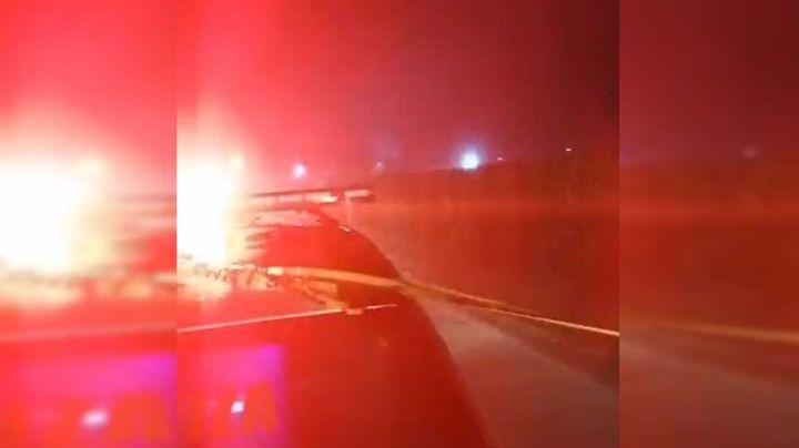 Trágico accidente en el Valle del Yaqui deja a un motociclista sin vida; ha otros tres heridos