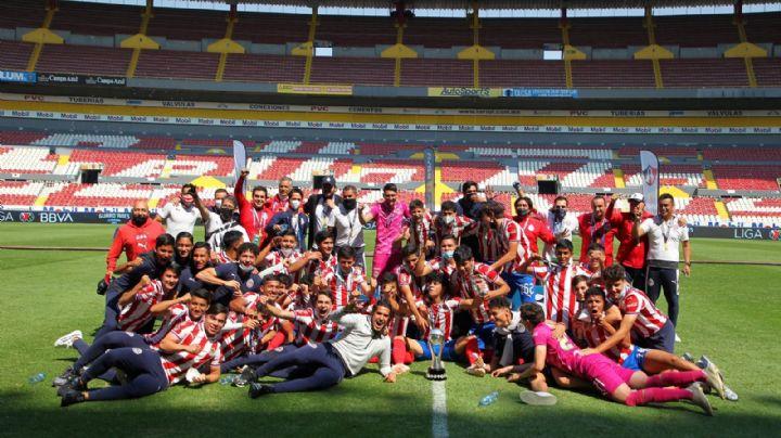 ¡Ponen el ejemplo! Chivas es campeón del Guardianes 2021 en la categoría Sub-17