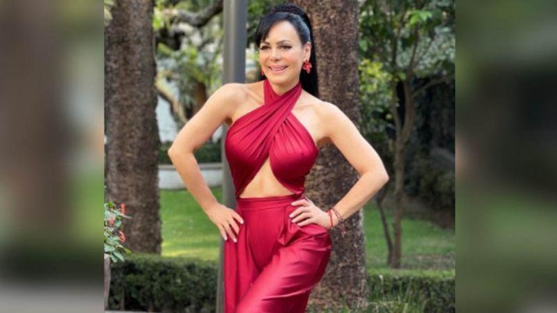 ¡Señora! Maribel Guardia hace arder las redes al aparecer con un colorido vestido: FOTO