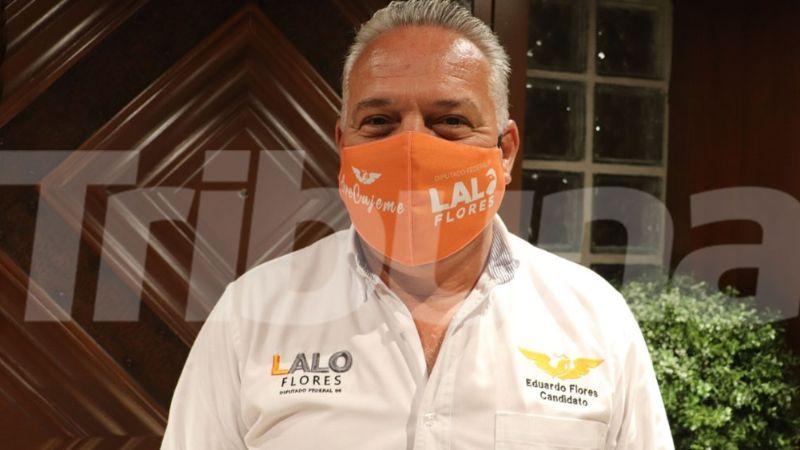 Eduardo Flores, candidato de Movimiento Ciudadano, busca un cambio para Cajeme