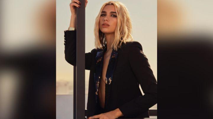 ¡Divina! Dua Lipa enamora todo Instagram al posar en coqueto 'outfit' verde