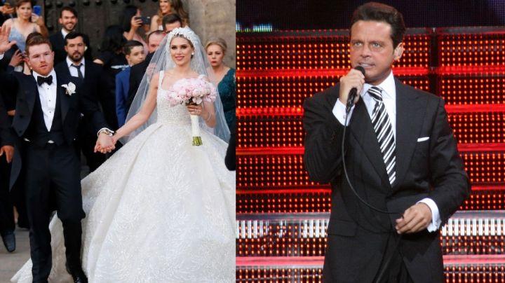 ¿Por dinero? Luis Miguel rechazaría cantar en la boda de 'Canelo' Álvarez por esto