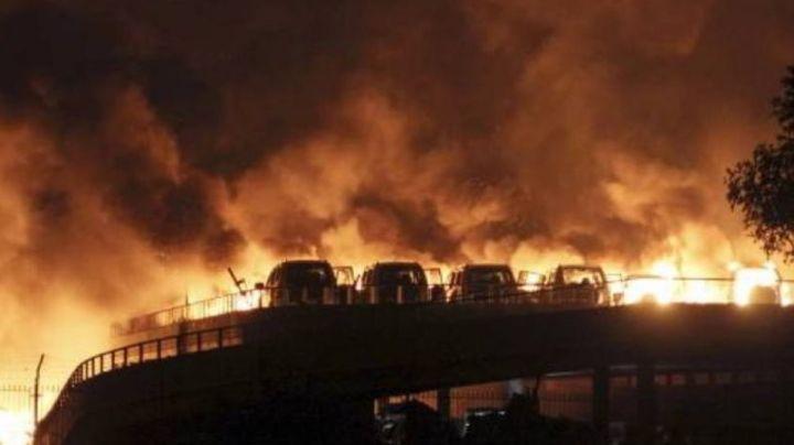 Explota fábrica de drones en Irán y deja 9 heridos; Israel la acusó de ayudar a Hamás de Gaza