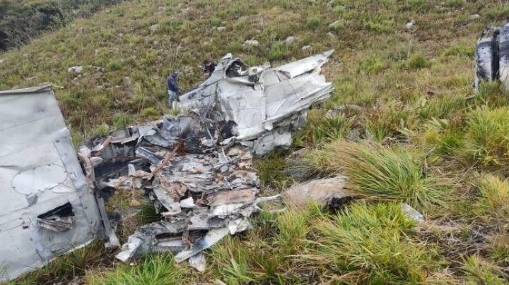 Fatal accidente aéreo: Se desploma avioneta y mueren 2 tripulantes; era un vuelo ilegal