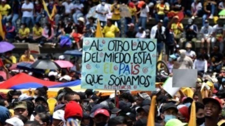 Lamentable: Protestas en Colombia dejan varios heridos y 2 muertos, entre ellos una bebé
