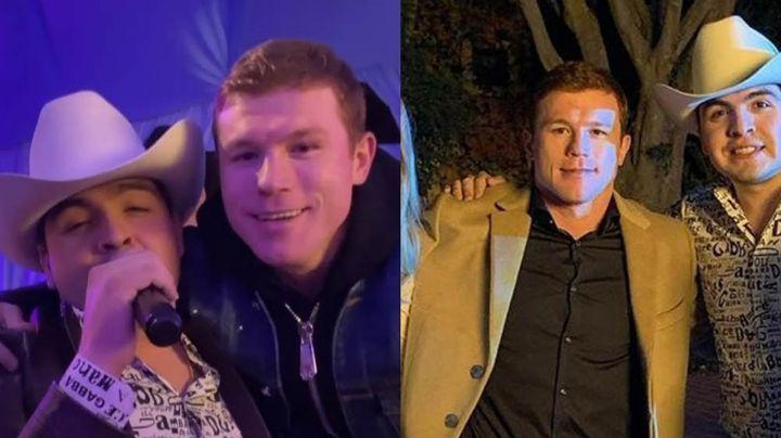"""""""Me gustó mucho"""": Saúl 'Canelo' Álvarez recibe este regalo de bodas de famoso cantante"""