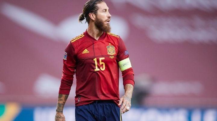 """La reacción de Sergio Ramos al no ser convocado para la Eurocopa: """"Duele no representar a tu país!"""